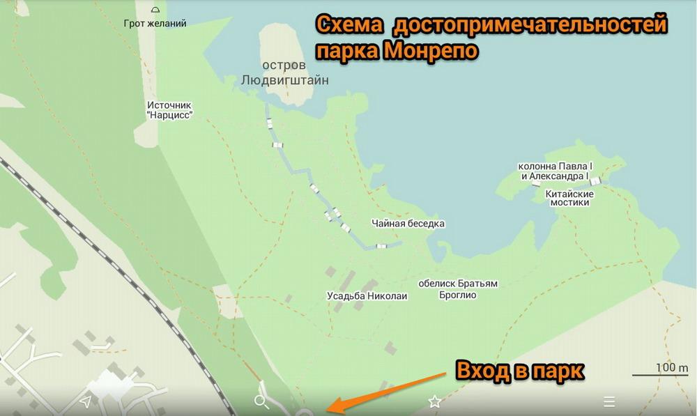Карта Выборга: как добраться