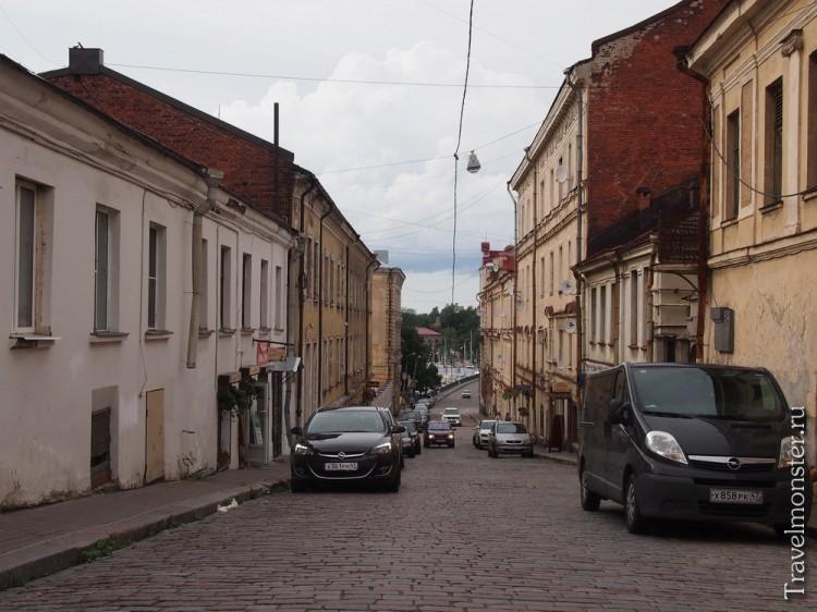Крепостная улица Выборг