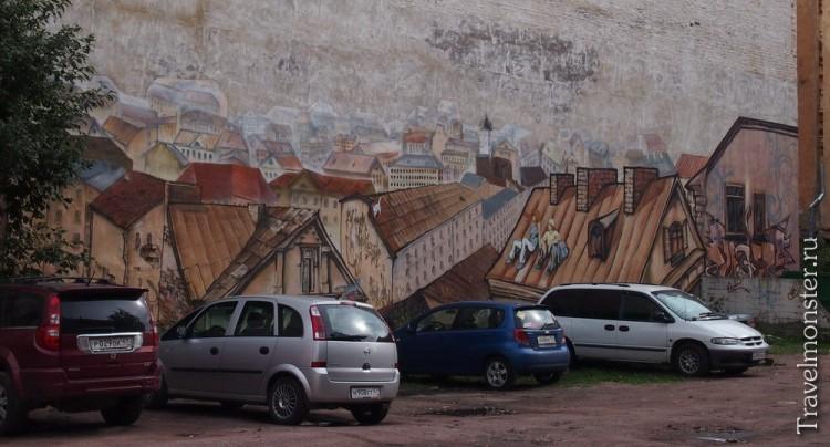 Граффити Выборга