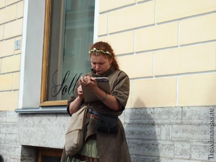 Эльфийская девушка