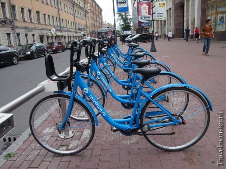 Велопрокат в Санкт-Петербурге