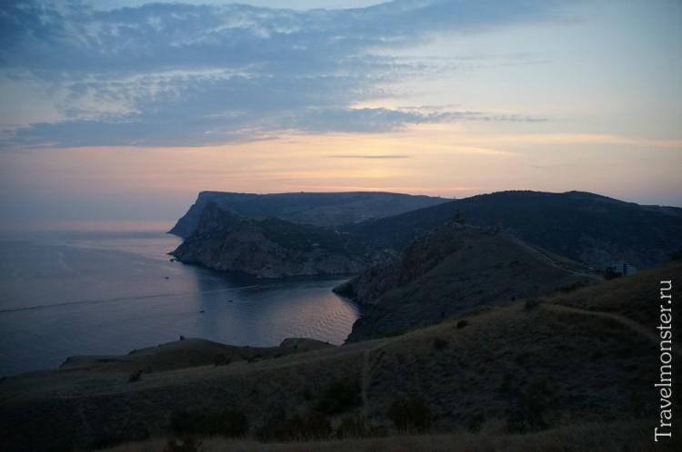 Я никогда не забуду эти шикарные закаты на море в Крыму