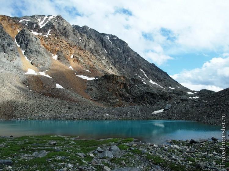 То самое горное озеро на Алтае