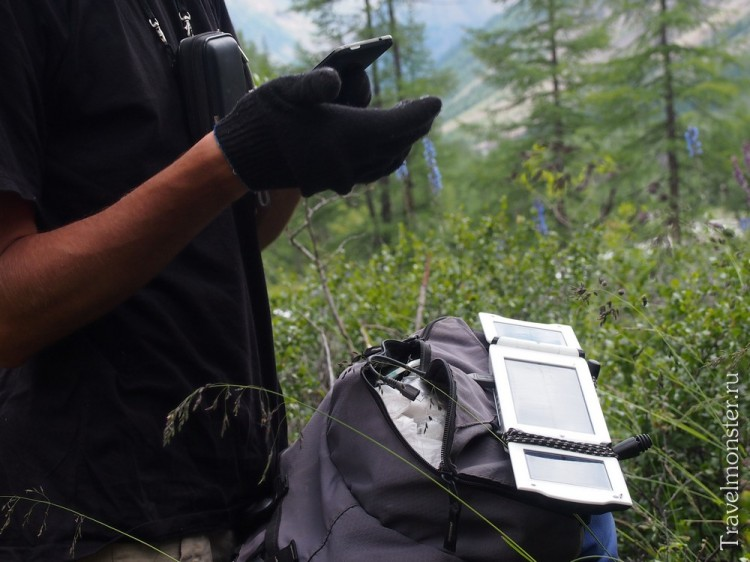 Мобильный телефон + солнечная батарея - и вы на связи даже там, где нет электричества