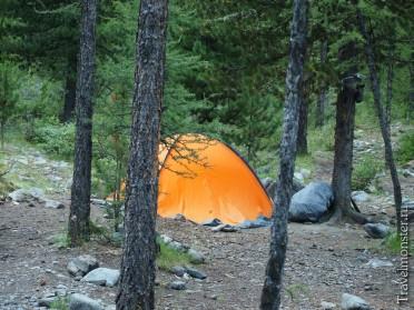 Палатка в Арктру