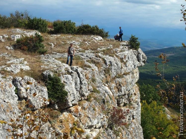 Традиция Крымских гор - вертикальные обрывы