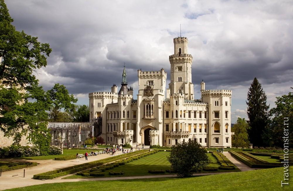 Хотя замок был построен еще в