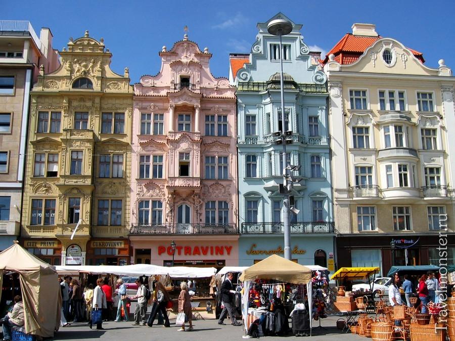 Живописный Пльзень в Чехии