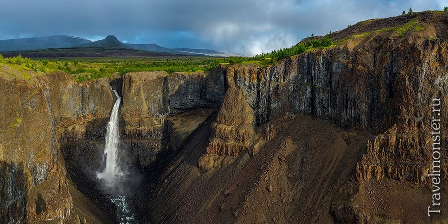 Красивые водопады на плато Путорана