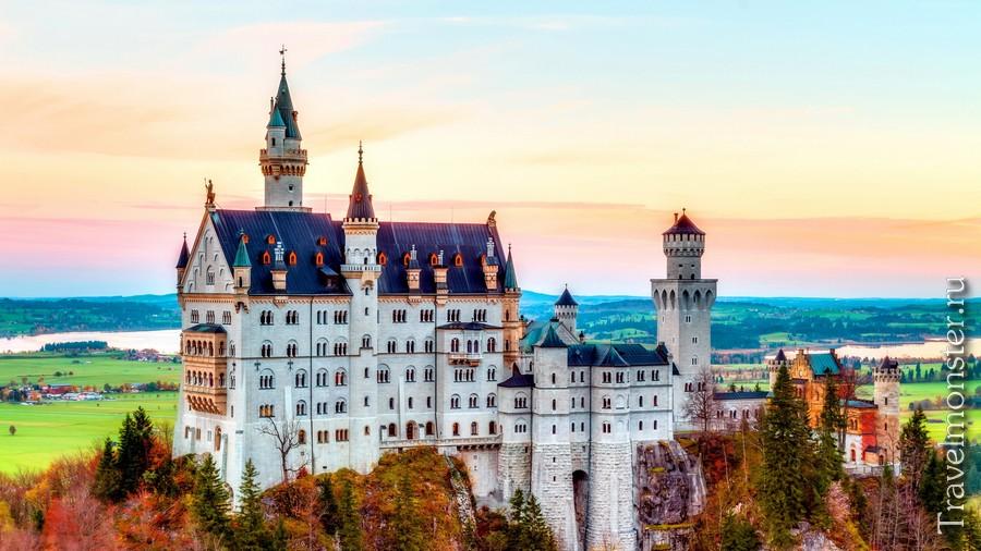 Самые красивые замки Германии