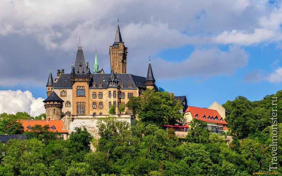 Замок Вернигероде (Wernigerode castle)
