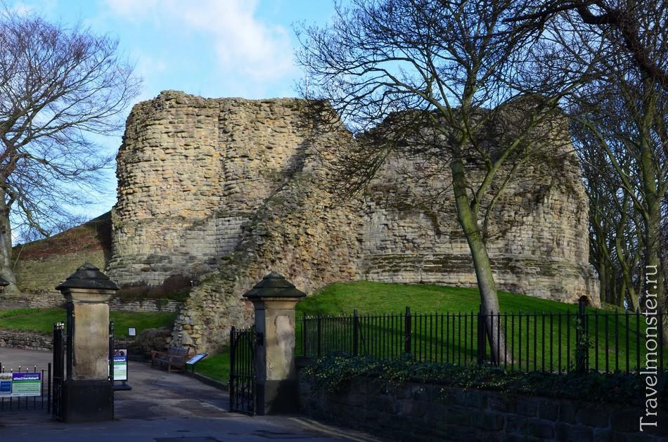 Замок Понтефракт