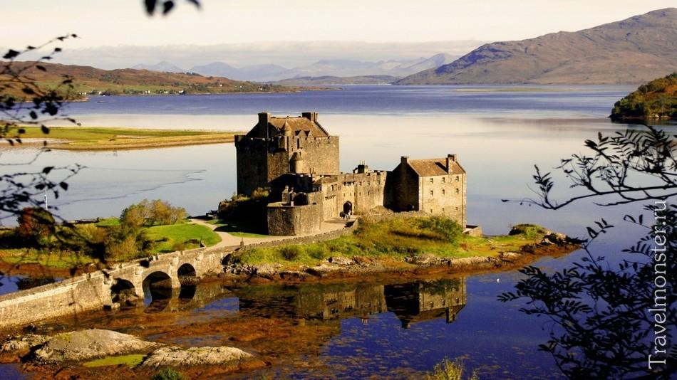 Красивые шотландские замки