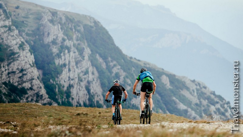 На велосипеде по горам Крыма