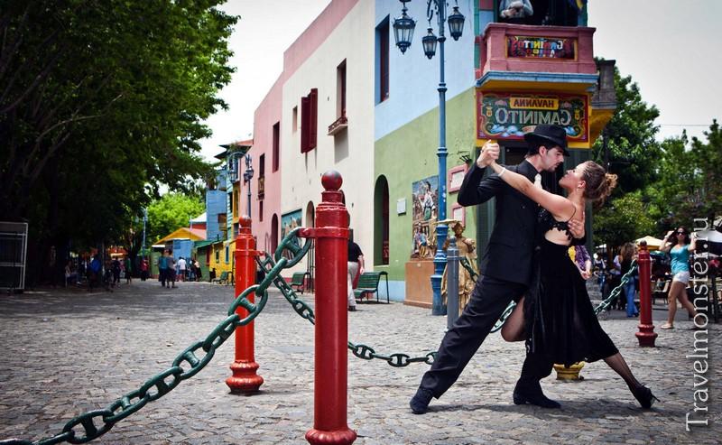 Буэнос-Айрес - родина танго