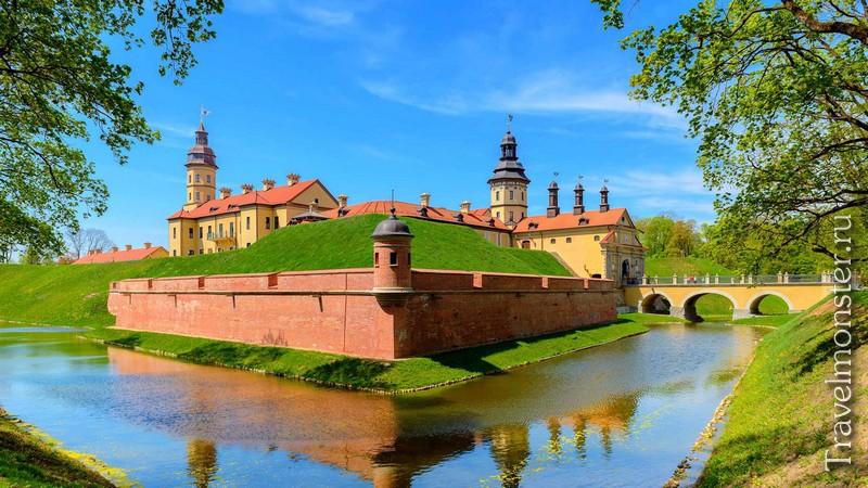 Старинный замки в Белоруссии