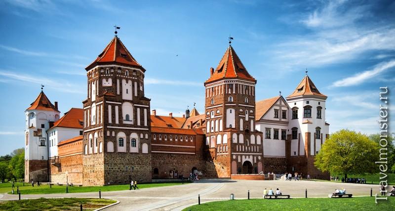 Замки и другие достопримечательности Белоруси