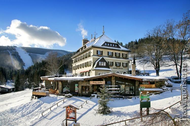 Жилье и питание на горнолыжном курорте в Чехии