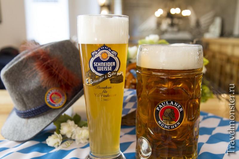 Какой же праздник без баварского пива?