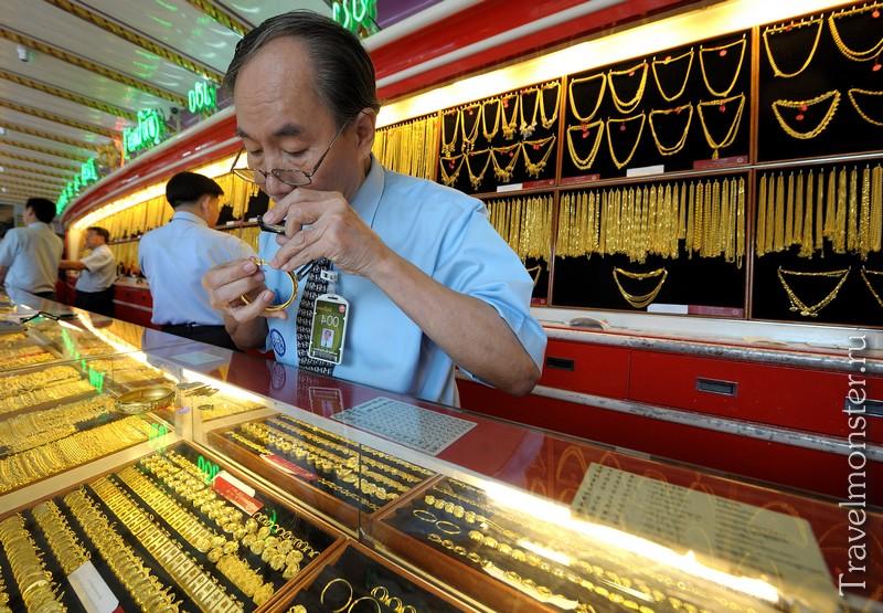 Ювелирная фабрика в Тайланде