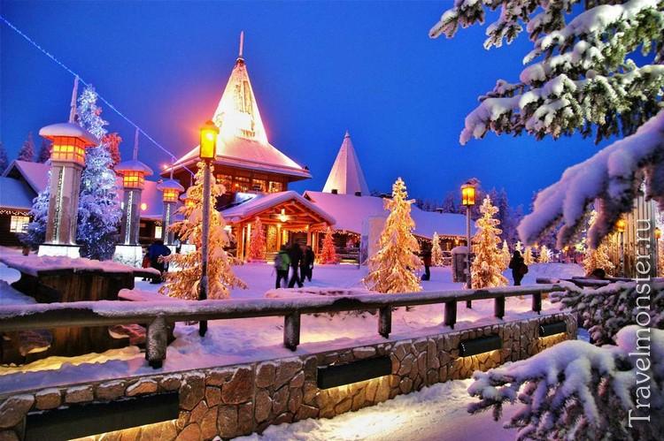 Сказочная деревня Санта-Клауса