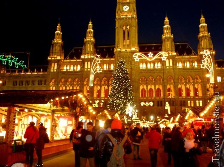 Величественная Вена на Новый год