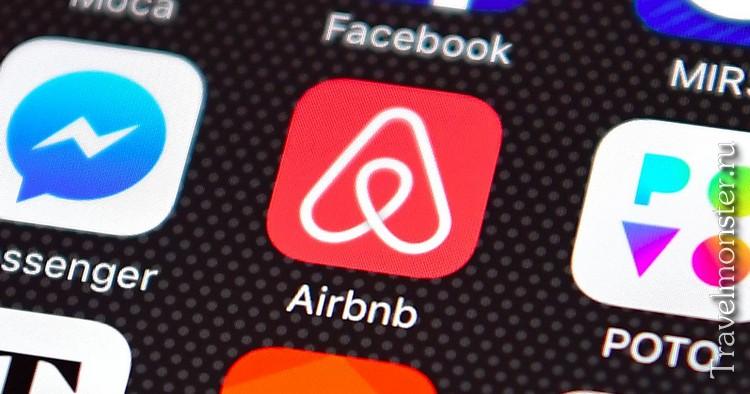 Мобильное приложение Airbnb