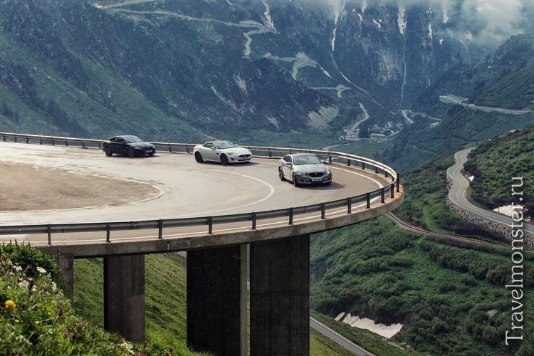 Горные дороги Швейцарии
