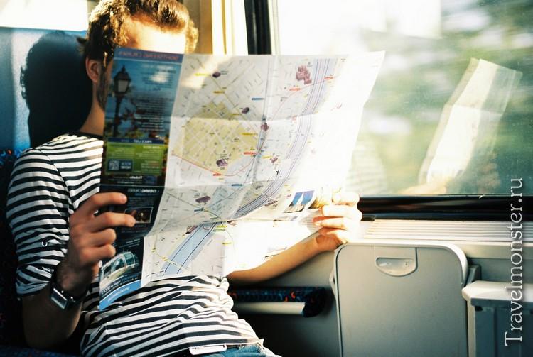 Планируем путешествие и выбираем маршрут