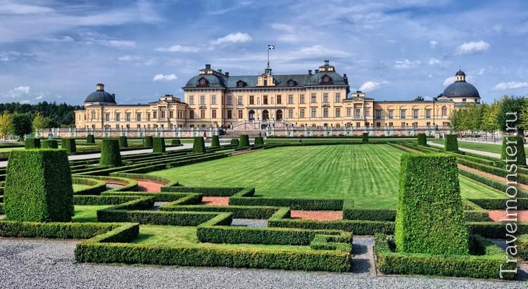 Королевский дворецДроттнингхольм