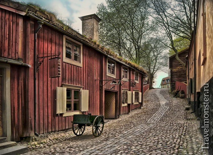 Музей этнографии и зоопарк Стокгольма