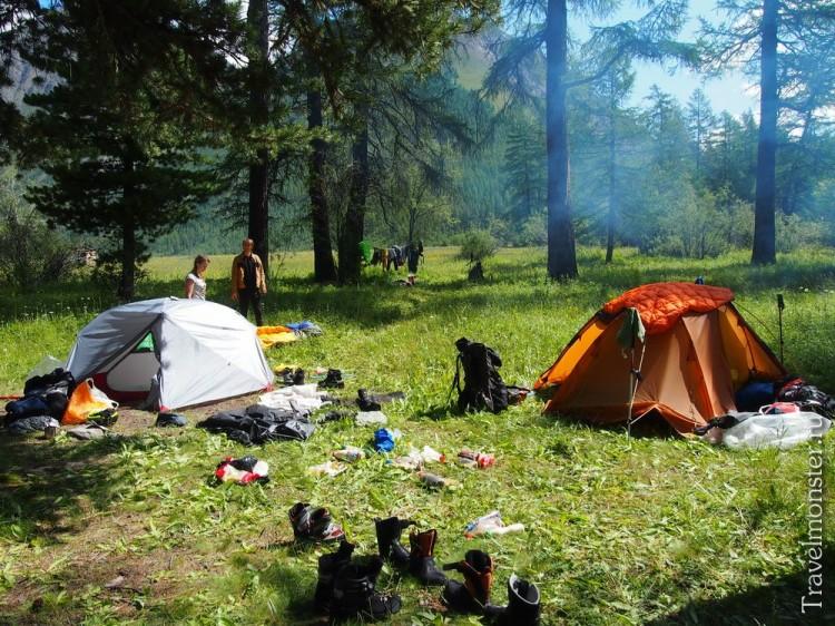 Дневка палатки