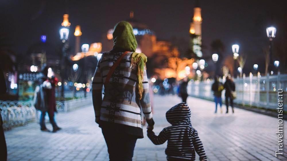 с ребенком в путешествие
