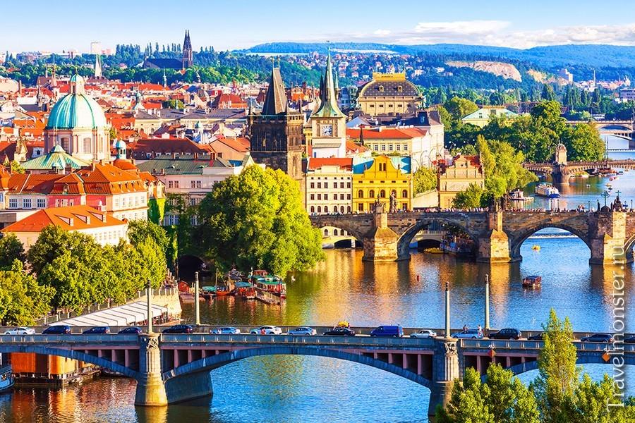 Чешские города