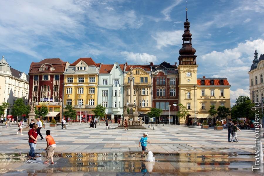 Острава в Чехии - для приключений