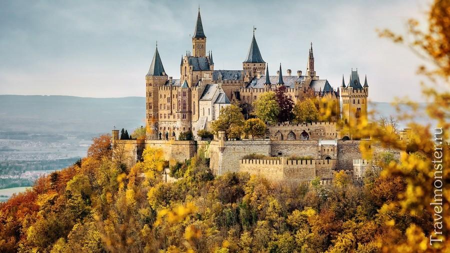 Замок Гогерцоллерн (Burg Hohenzollern)