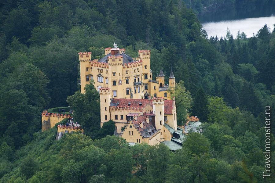 Замок-резиденция Хоэншвангау (Schloß Hohenschwangau)
