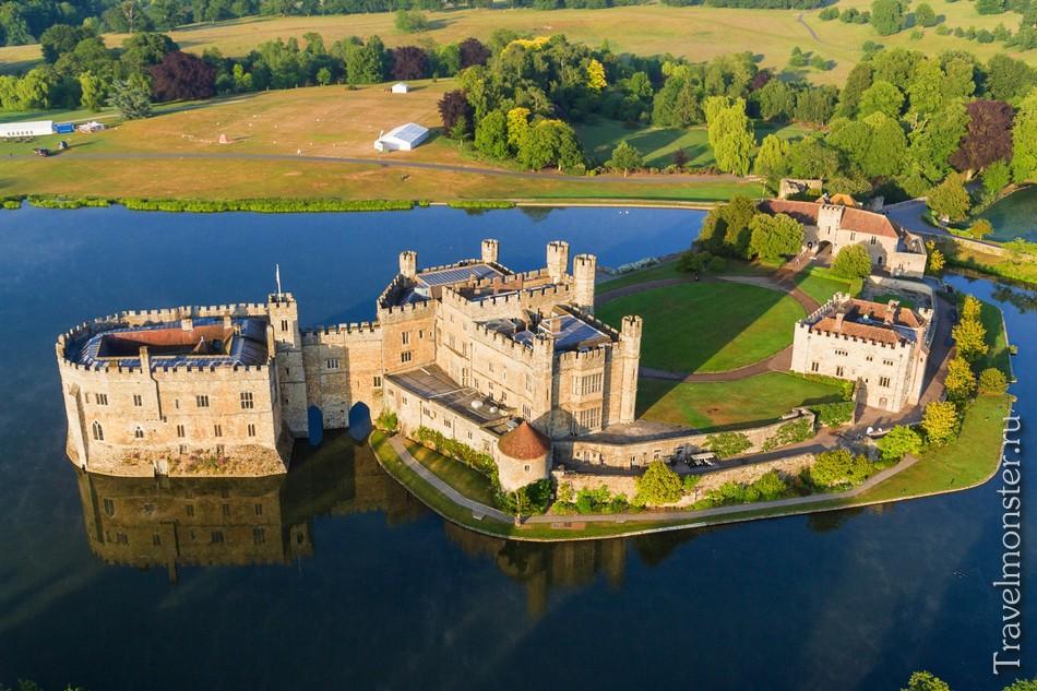 Самые красивые замки Англии