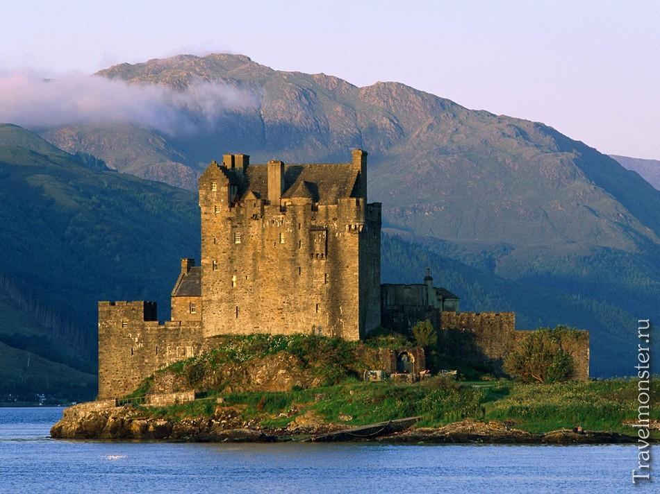 История замков Шотландии карта