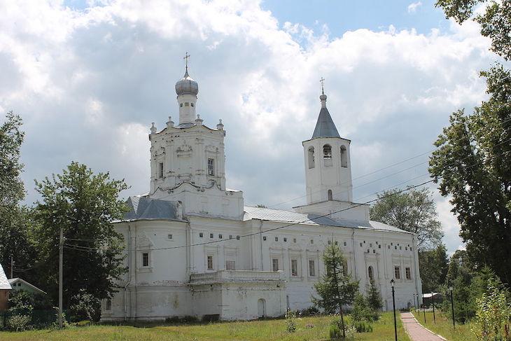 Солотчинский монастырь в рязани