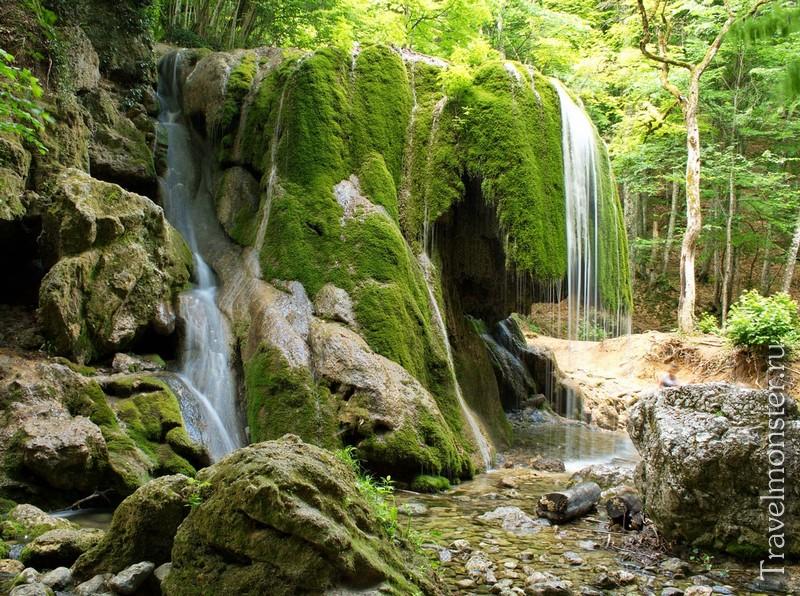Водопады в Крыму