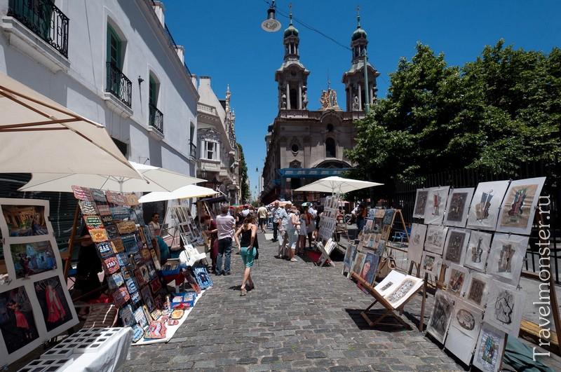 Торговый квартал Сан-Тельмо