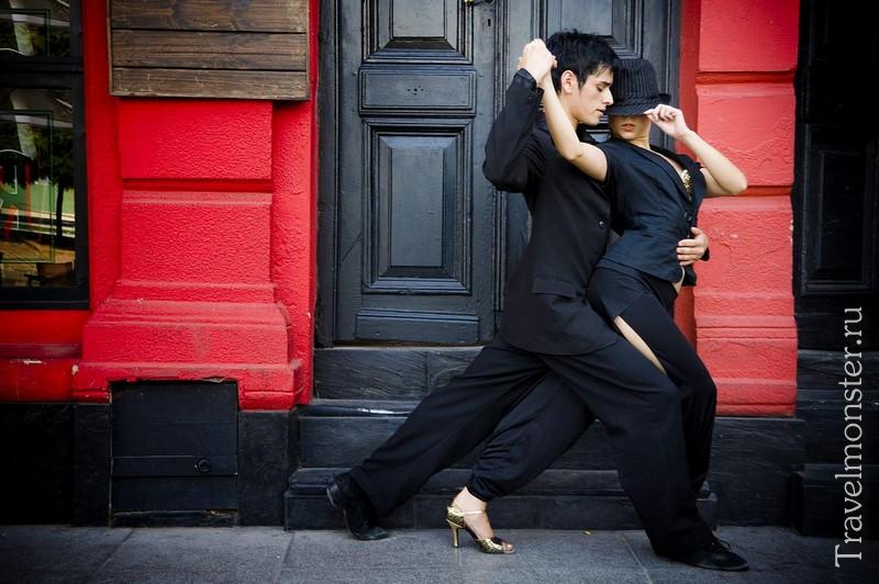Танго в Буэнос-Айрес