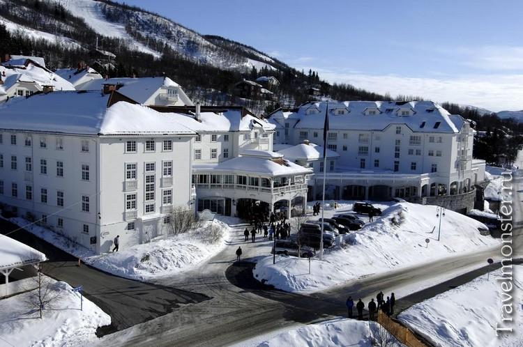 Норвежский горнолыжный курорт Гейло