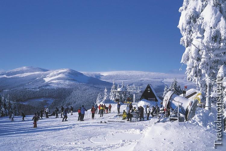 Горные лыжи в Чехии этой зимой