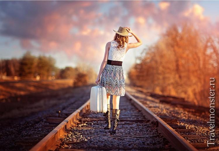 Дорожная сумка для девушки-путешественницы