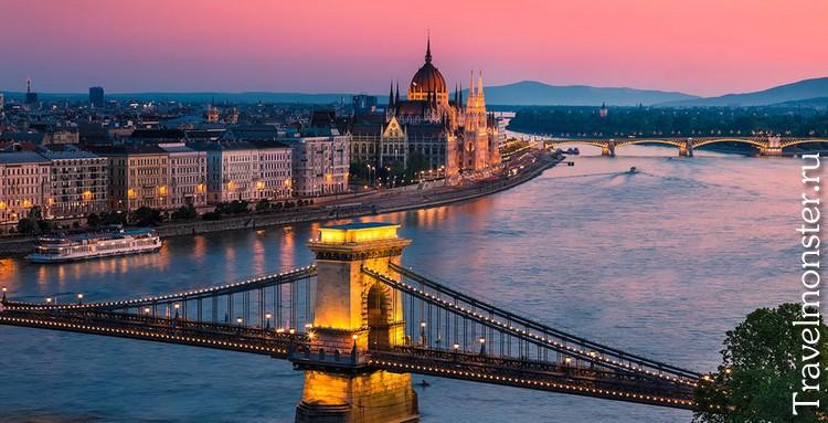Вид на реку Дунай
