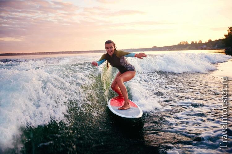 Серфинг на острове Лусон