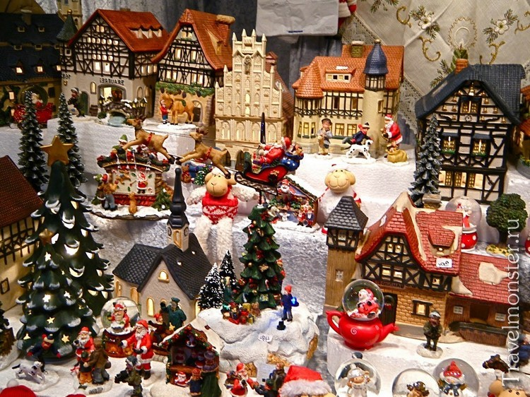 Сувениры на рождественских базарах в Вене
