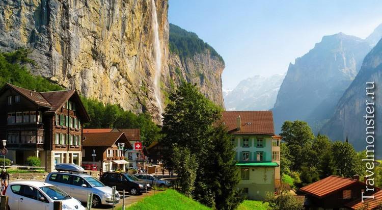 На авто в Швейцарию
